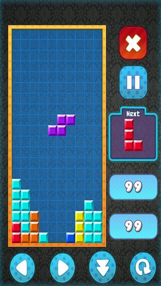 Brick Classic HD: Tetris Free скриншот 4