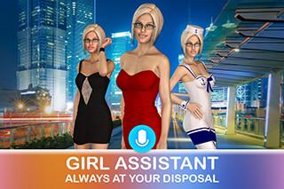 Собеседница: Твоя 3D девушка скриншот 1
