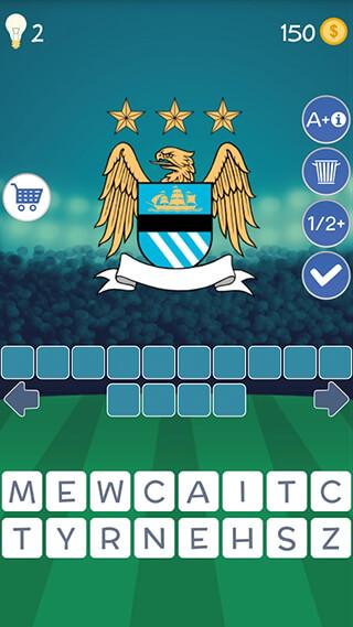 Football Clubs Logo Quiz скриншот 1