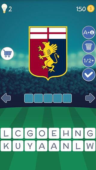 Football Clubs Logo Quiz скриншот 2