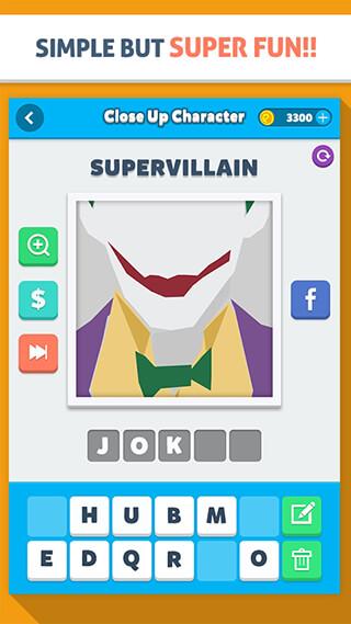 Close Up Character: Pic Quiz скриншот 4
