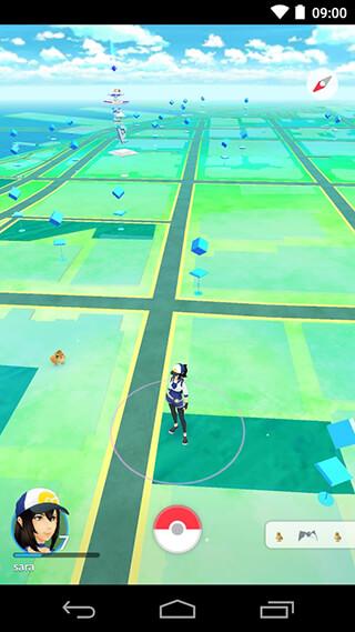 Pokemon GO скриншот 1