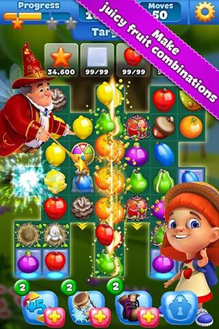 Fruit Land: Match3 Adventure скриншот 1