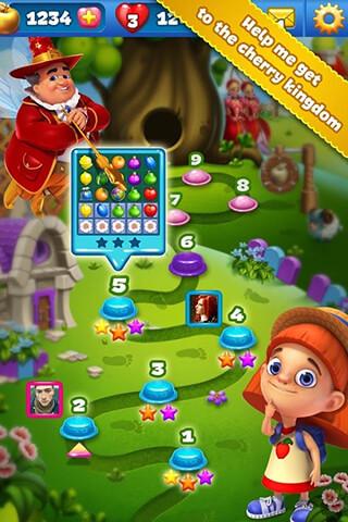 Fruit Land: Match3 Adventure скриншот 2