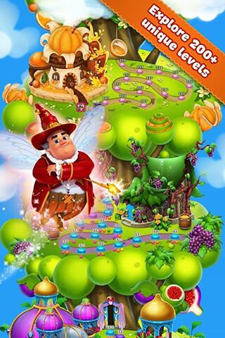 Fruit Land: Match3 Adventure скриншот 4