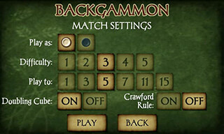Backgammon Free скриншот 3