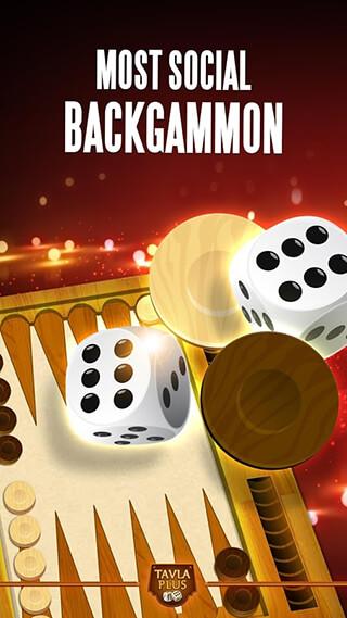 Backgammon Plus скриншот 1