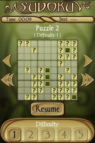 Sudoku Free скриншот 3