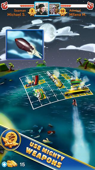 BattleFriends at Sea скриншот 1