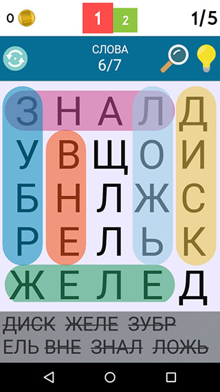 Word Search скриншот 1