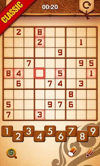 Sudoku Master скриншот 2