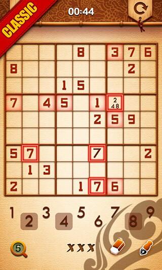 Sudoku Master скриншот 3