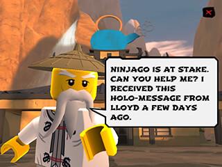 LEGO Ninjago: Wu-Cru скриншот 2