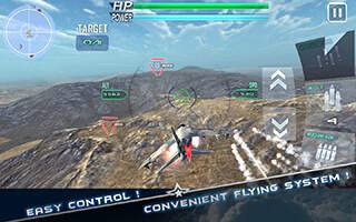 Modern Air Combat 3D скриншот 2