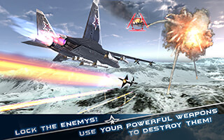 Modern Air Combat 3D скриншот 3