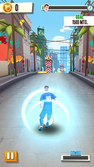Messi Runner скриншот 2