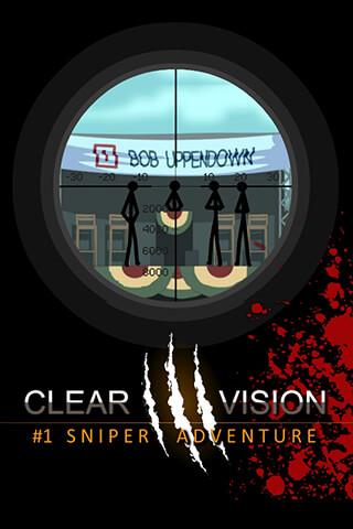 Clear Vision 3: Sniper Shooter скриншот 1