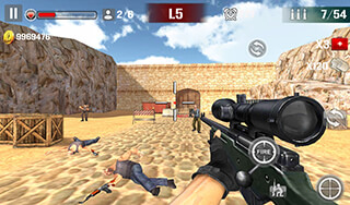 Sniper Shoot: Fire War скриншот 1