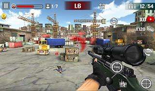 Sniper Shoot: Fire War скриншот 4