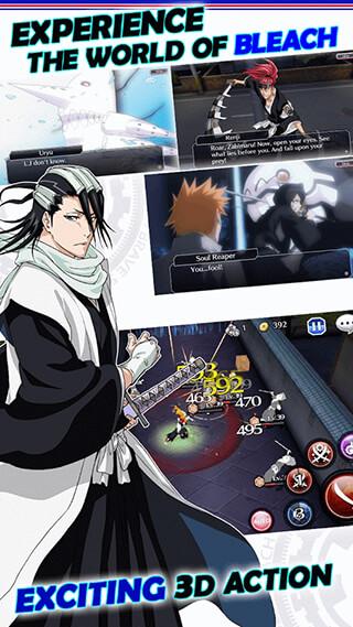 Bleach: Brave Souls скриншот 1