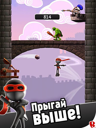 Ninjump Dlx: Endless Ninja Fun скриншот 2