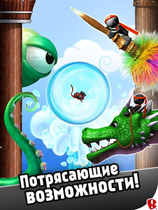 Ninjump Dlx: Endless Ninja Fun скриншот 3