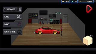 Pixel Car Racer скриншот 1