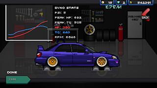 Pixel Car Racer скриншот 2