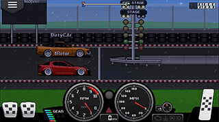 Pixel Car Racer скриншот 3