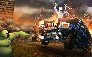 Monster Car: Hill Racer скриншот 1