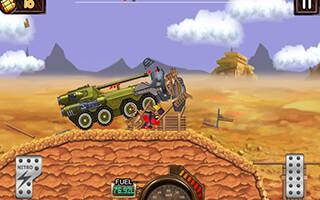 Monster Car: Hill Racer скриншот 2