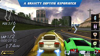 Crazy Racer 3D: Endless Race скриншот 1