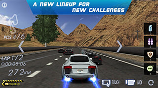 Crazy Racer 3D: Endless Race скриншот 2