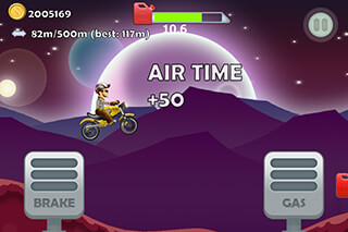 Hill Racing: Christmas Special скриншот 2