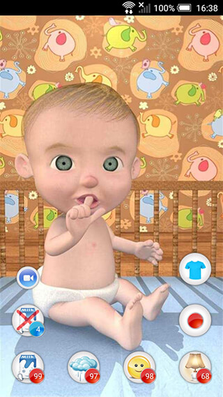 My Baby: Virtual Pet скриншот 1