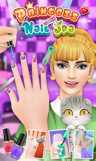 Princess Nail Salon скриншот 1