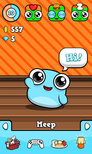 Meep: Virtual Pet Game скриншот 1