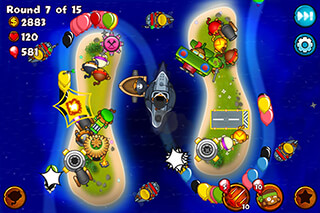 Bloons: Monkey City скриншот 2