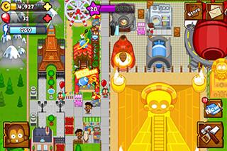 Bloons: Monkey City скриншот 3