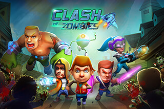 Apoc Wars: Clash Of Zombies скриншот 1