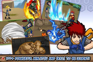 Ninja Saga скриншот 1