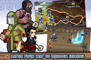 Ninja Saga скриншот 2