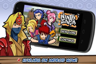 Ninja Saga скриншот 4