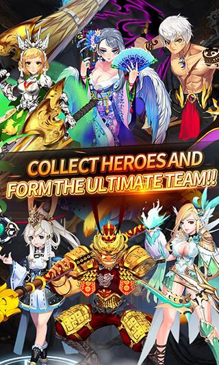 Dragon Heroes: Shooter RPG скриншот 4
