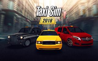 Taxi Sim 2016 скриншот 1