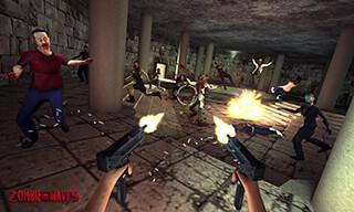 Zombie Waves 3D скриншот 1