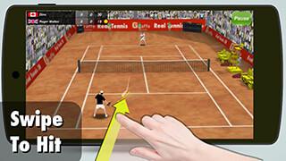 Tennis Champion 3D скриншот 1