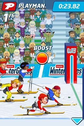 Playman: Winter Games скриншот 1