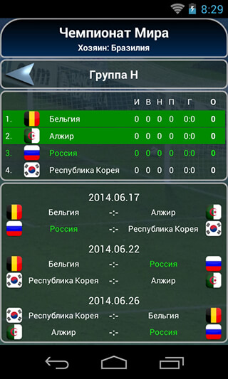 True Football National Manager скриншот 3