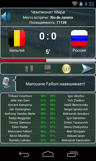True Football National Manager скриншот 4